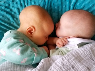1 Month - 3 Weeks Sleeping Together